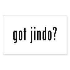 GOT JINDO Decal