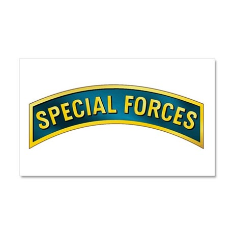 Special Forces Car Magnet 20 x 12