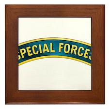 Special Forces Framed Tile