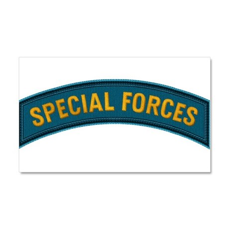 Special Forces(Teal) Car Magnet 20 x 12