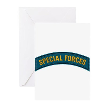 Special Forces(Teal) Greeting Cards (Pk of 10)