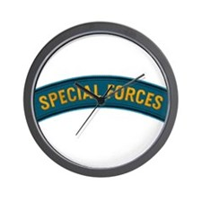 Special Forces(Teal) Wall Clock