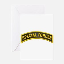 Special Forces(Black) Greeting Card