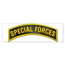 Special Forces(Black) Bumper Sticker
