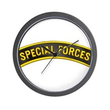 Special Forces(Black) Wall Clock