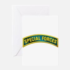 Special Forces(Teal) Greeting Card