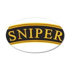 Sniper Tab 22x14 Oval Wall Peel