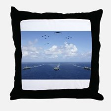 Valiant Shield Throw Pillow