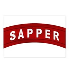 Sapper Tab Postcards (Package of 8)