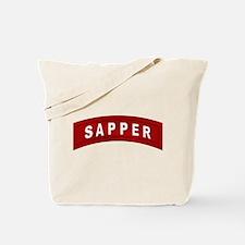 Sapper Tab Tote Bag