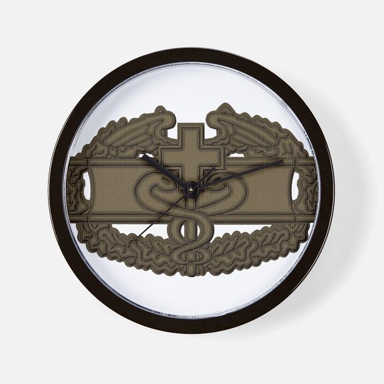 Combat Medic OD Wall Clock