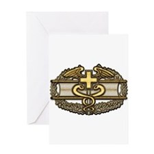 Combat Medic(gold) Greeting Card