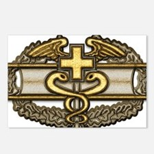 Combat Medic(gold) Postcards (Package of 8)