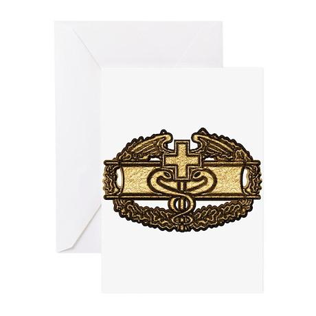 Combat Medic(gold) Greeting Cards (Pk of 20)