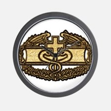 Combat Medic(gold) Wall Clock