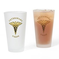 US Army Veterinary Drinking Glass