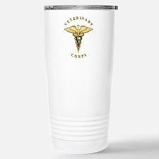 US Army Veterinary Stainless Steel Travel Mug