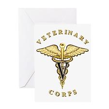 US Army Veterinary Greeting Card
