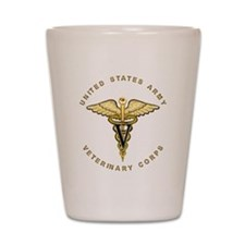 Army Veterinary Shot Glass