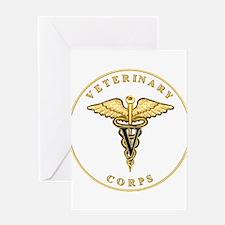 Veterinary Corps Greeting Card
