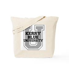 Kerry Blue UNIVERSITY Tote Bag