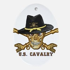 Forever Cavalry Ornament (Oval)