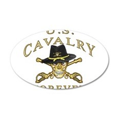 Cavalry Forever 22x14 Oval Wall Peel