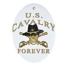 Cavalry Forever Ornament (Oval)