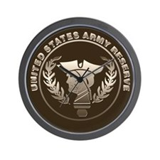 Army Reserve Wall Clock