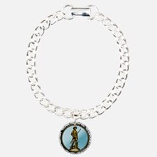 Army National Guard Charm Bracelet, One Charm