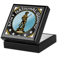 Army National Guard Keepsake Box