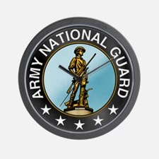 Army National Guard Wall Clock