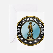 ARMY GUARD Greeting Card