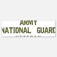 Guard Veteran Bumper Bumper Sticker