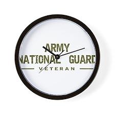 Guard Veteran Wall Clock