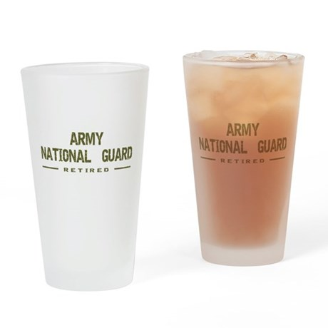 Retired Guard Drinking Glass