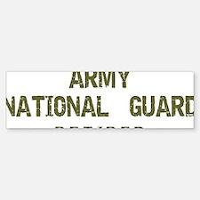 Retired Guard Bumper Bumper Sticker