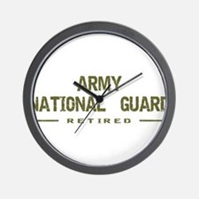 Retired Guard Wall Clock