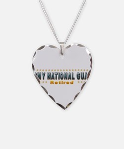 Army Guard Retired Necklace