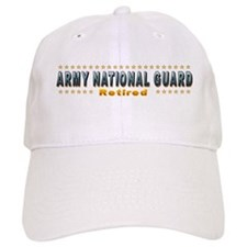 Army Guard Retired Baseball Cap