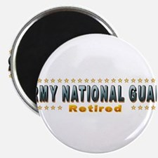 """Army Guard Retired 2.25"""" Magnet (100 pack)"""
