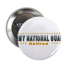"""Army Guard Retired 2.25"""" Button"""