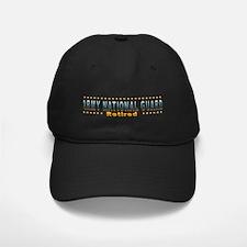 Army Guard Retired Baseball Hat