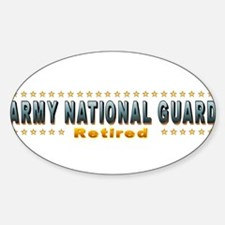 Army Guard Retired Decal