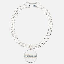 Army Guard Mom Charm Bracelet, One Charm