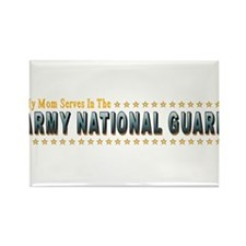 Army Guard Mom Rectangle Magnet