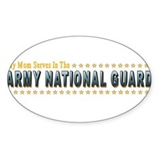 Army Guard Mom Decal