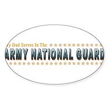 Army Guard Dad Decal