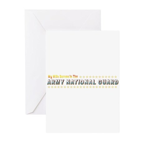 National Guard Wife Greeting Cards (Pk of 10)