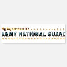 My Army Guard Boy Bumper Bumper Sticker